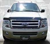 AVS - Ford Expedition AVS Bugflector II Hood Shield - Smoke