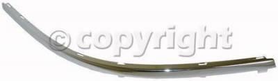 Custom - FRONT BUMPER MOLDING RH (PASSENGER SIDE)