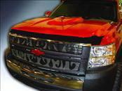 AVS - Chevrolet Silverado AVS Aeroskin Hood Shield - Chrome
