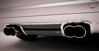 AC Schnitzer - Rear Diffusor, Black Carbon Fiber w. rear muffler