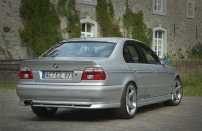 AC Schnitzer - E39 (Sedan), Rear Add-On Spoiler (w/ OE Muffler)