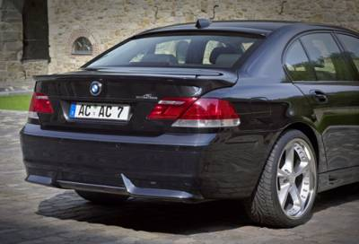 AC Schnitzer - E65-Rear add-on Lip Spoiler, w/ ACS Muffler