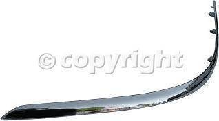 Custom - FRONT BUMPER MOLDING LH (DRIVER SIDE)