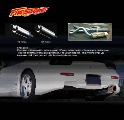 5Zigen - Fire Catback Exhaust