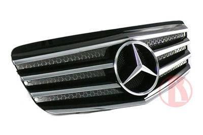 Custom - W211 07 plus Grille Black or Silver