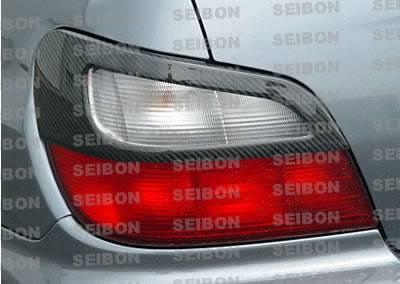 Seibon - Subaru WRX Seibon Carbon Fiber Taillight Cover - TC0203SBIMP-TA