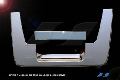 SES Trim - Nissan Titan SES Trim ABS Chrome Tailgate Handle - TG102