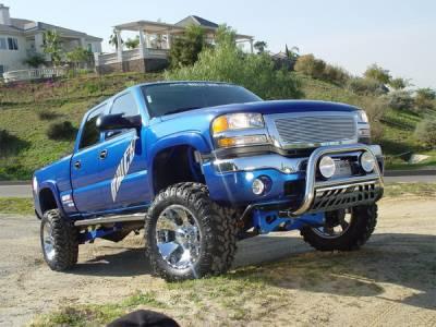 Aries - Dodge Dakota Aries Bull Bar with Stainless Skid - 3 Inch