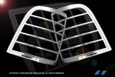 SES Trim - Ford Explorer SES Trim ABS Chrome Taillight Trim - TL102