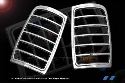 SES Trim - Ford Expedition SES Trim ABS Chrome Taillight Trim - TL110