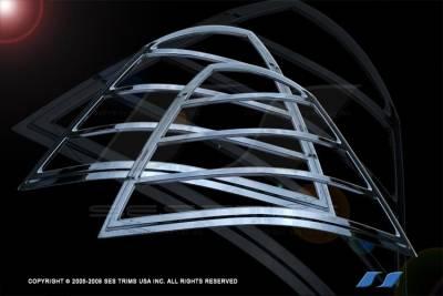 SES Trim - Ford Taurus SES Trim ABS Chrome Taillight Trim - TL122
