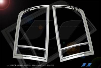 SES Trim - Nissan Armada SES Trim ABS Chrome Taillight Trim - TL127