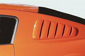 Street Scene - Ford Mustang Street Scene Generation 1 Side Window Louvers - 950-70746