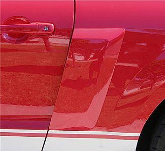 Street Scene - Ford Mustang Street Scene Quarter Panel Side Brake Ducts - 950-70774