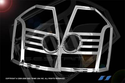 SES Trim - Chrysler 300 SES Trim ABS Chrome Taillight Trim - TL142