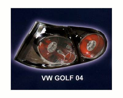AutoDirectSave - VW GOLF BLACK TAILLIGHTS