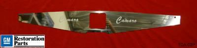 Undercover Innovations - Chevrolet Camaro Undercover Innovations Camaro Engraved Show Panel