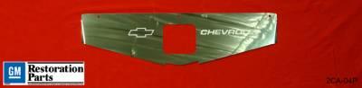 Undercover Innovations - Chevrolet Camaro Undercover Innovations Bowties & Chevrolet Engraved Show Panel