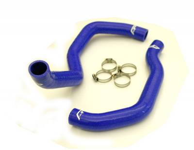 Agency Power - Nissan 240SX Agency Power Silicon KA Radiator Hose with Clamps
