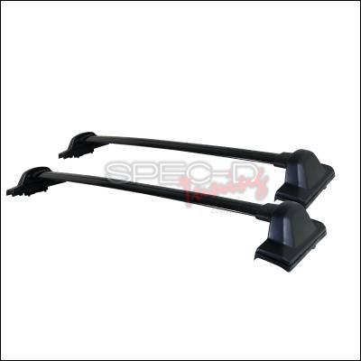 Spec-D - Honda CRV Spec-D Roof Rack - Black - RRB-CRV07BK