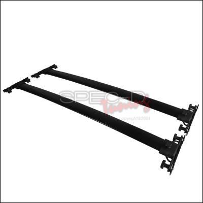 Spec-D - Toyota Highlander Spec-D OEM Style Roof Rack - RRB-HLDR08BK