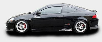 Chargespeed - Acura RSX Chargespeed Kouki Bottom Line Side Skirts