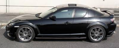 Chargespeed - Mazda RX-8 Chargespeed Bottom Line Side Skirts
