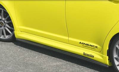 Chargespeed - Suzuki Swift Chargespeed Bottom Line Side Skirts