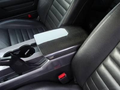TruFiber - Ford Mustang TruFiber Carbon Fiber LG38 Arm Rest Cover TC10024-LG38