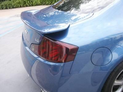 Custom - Tail Light Overlays Full Smoked