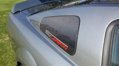TruFiber - Ford Mustang TruFiber Carbon Fiber LG43 Window Cover TC10024-LG43