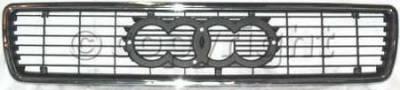 Custom - Chrome Grille Kit - with emblem space
