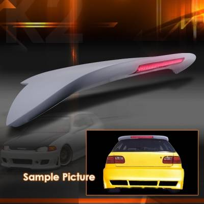 Custom Disco - Honda Civic Custom Disco Spoon Spoiler - SPL-CV923LED