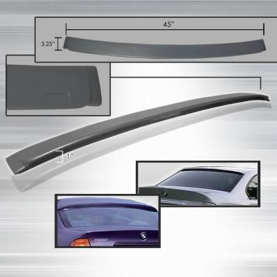 Custom Disco - BMW 3 Series Custom Disco ABS Roof Spoiler - SPL-E462-ABS