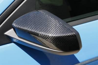 TruFiber - Ford Mustang TruFiber Carbon Fiber LG76 Mirror Cover TC10025-LG76