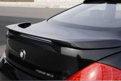 Carbonio - E63 Coupe Hamann Rear Spoiler