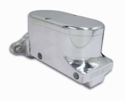 SSBC - SSBC Billet Aluminum Dual Bowl Master Cylinder - GM Mount and Plain Cap - A0469-1
