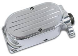 SSBC - SSBC Billet Aluminum Dual Bowl Master Cylinder - Ford Mount and Ball Milled Cap - A0470-5