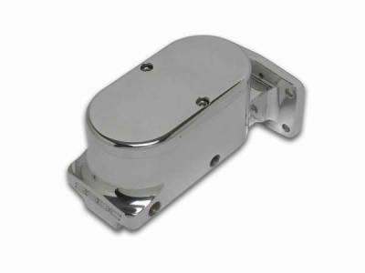 SSBC - SSBC Billet Aluminum Dual Bowl Master Cylinder - Mopar Mount and Plain Cap - A0471-1