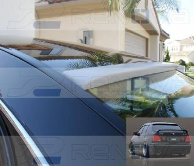 Custom - JDM VIP Style Aristo Roof Spoiler
