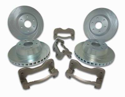 SSBC - SSBC Direct Bolt-On Caliper Relocation Brackets - Front & Rear - A126-44