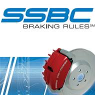 SSBC - SSBC Direct Bolt-On Force 10 Tri-Power 3-Piston Aluminum Calipers & Pads - Front - A187-5