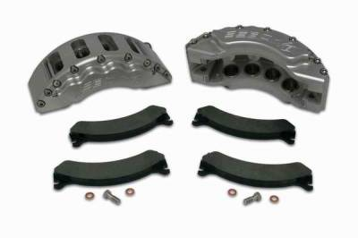 SSBC - SSBC Direct Bolt-On Force 10 V8 8-Piston Aluminum Calipers & Pads - Front - A193-1