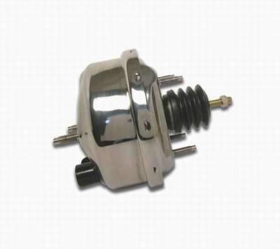 SSBC - SSBC 7 Inch Chrome Booster Master Cylinder - A28142C