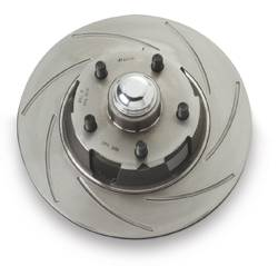 SSBC - SSBC Replacement Rotor with Turbo Slotting - Front Driver Side - S2300L