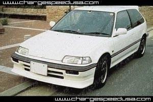 Chargespeed - Honda Civic Chargespeed Zenki Front Spoiler