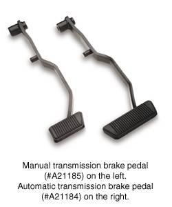 SSBC - SSBC Manual Transmission Power Brake Pedal Assembly - A21185
