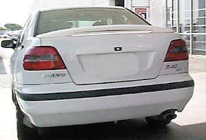 Custom - Rear Wing Spoiler