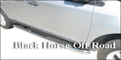 Black Horse - Ford Edge Black Horse Side Steps