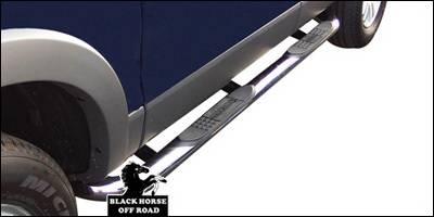 Black Horse - Mercury Mountaineer Black Horse Side Steps